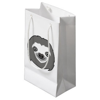 Sloth Face Small Gift Bag