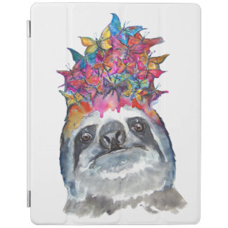Sloth Flower iPad Cover