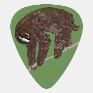 Sloth Guitar Pick