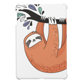Sloth hang in there case for the iPad mini