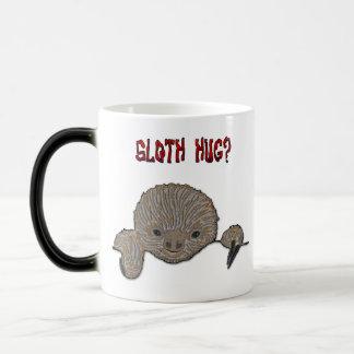 Sloth Hug Baby Sloth Morphing Mug