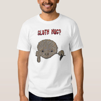 Sloth Hug Baby Sloth T-shirt
