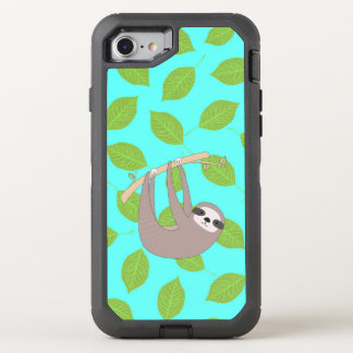 Sloth in Nature OtterBox Defender iPhone 7 Case