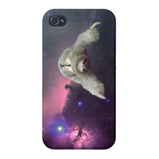 Sloth in Space iPhone 4/4S Case