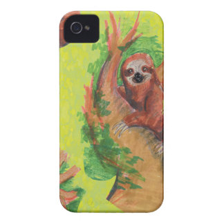 sloth in the tree Case-Mate iPhone 4 case