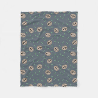 Sloth Life Small Fleece Blanket