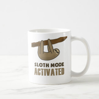 Sloth Mode Basic White Mug