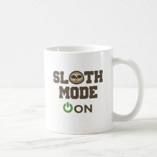 Sloth Mode On Basic White Mug