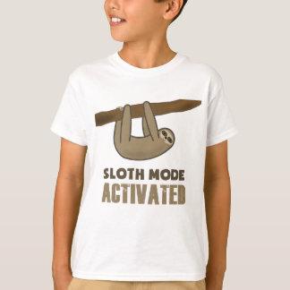 Sloth Mode T-shirts