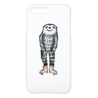 Sloth on Roller Skates iPhone 8 Plus/7 Plus Case