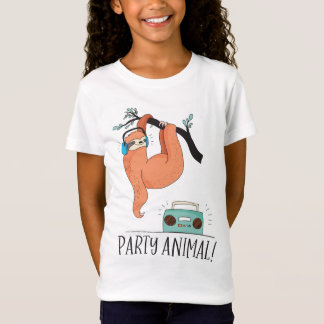 Sloth Party Animal T-Shirt