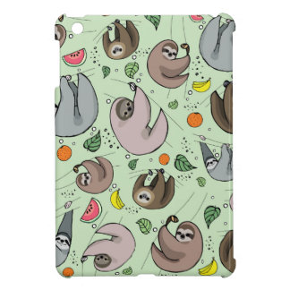 Sloth Party iPad Mini Cover
