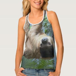 Sloth Photo Singlet