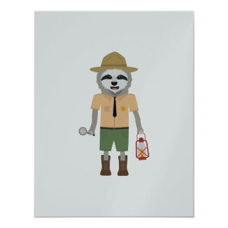 Sloth Ranger with lamp Z2sdz Card