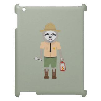 Sloth Ranger with lamp Z2sdz Cover For The iPad 2 3 4
