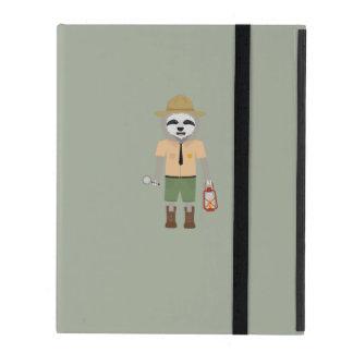 Sloth Ranger with lamp Z2sdz iPad Cover