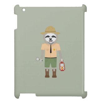 Sloth Ranger with lamp Z2sdz iPad Covers