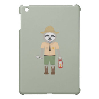 Sloth Ranger with lamp Z2sdz iPad Mini Cases