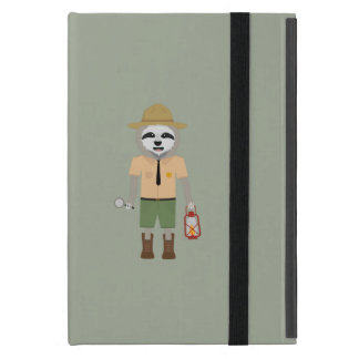 Sloth Ranger with lamp Z2sdz iPad Mini Cover