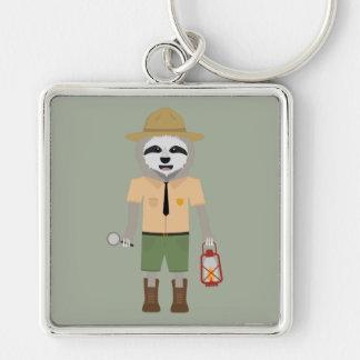 Sloth Ranger with lamp Z2sdz Key Ring