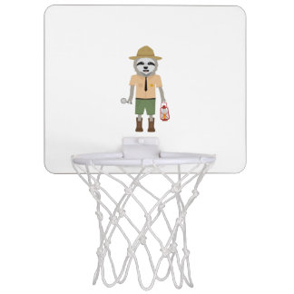 Sloth Ranger with lamp Z2sdz Mini Basketball Hoop