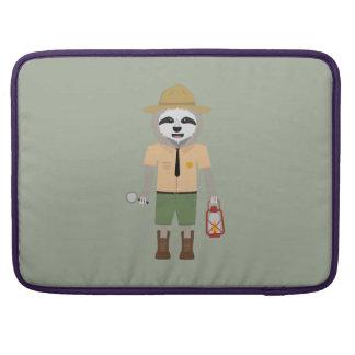 Sloth Ranger with lamp Z2sdz Sleeve For MacBooks
