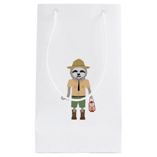 Sloth Ranger with lamp Z2sdz Small Gift Bag