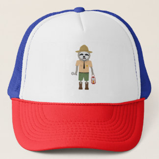 Sloth Ranger with lamp Z2sdz Trucker Hat