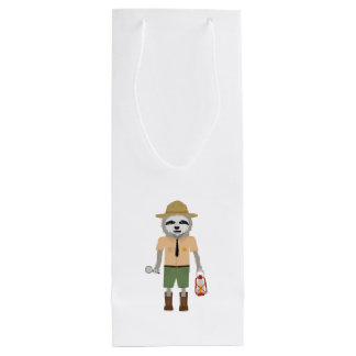 Sloth Ranger with lamp Z2sdz Wine Gift Bag