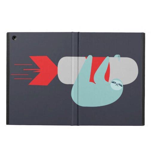 Sloth Rocket iPad Air Cases