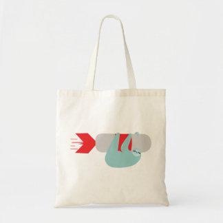 Sloth Rocket Tote Bag