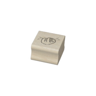 Sloth Rubber Stamp