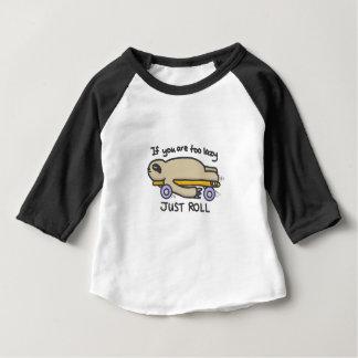 Sloth Skateboarding Baby T-Shirt
