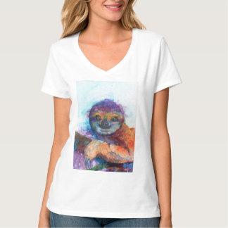 Sloth smile - watercolor T-Shirt