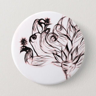 Sloth/ Taking it slow 7.5 Cm Round Badge