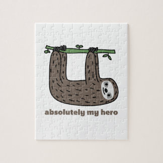 Sloth the Hero Jigsaw Puzzle