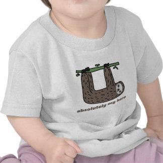 Sloth the Hero T-shirts