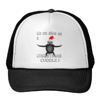 slothie wants a christmas cuddle cap