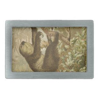 Sloths are Super Belt Buckle