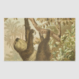 Sloths are Super Rectangular Sticker