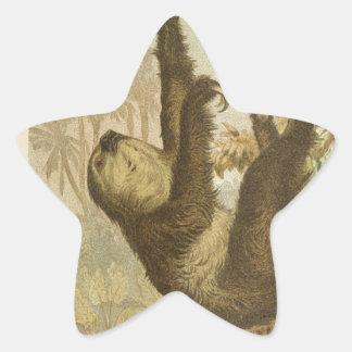 Sloths are Super Star Sticker