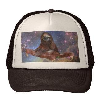 Sloths in Space Trucker Cap