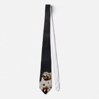 Slothstronaut Tie
