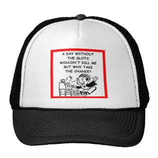 SLOTS MESH HATS