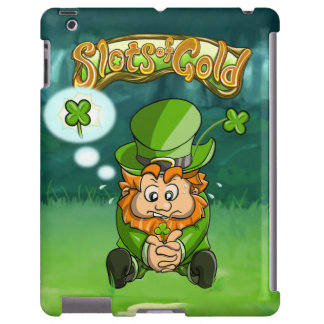 Slots of Gold Four Leaf Clover iPad 2/3/4 Case