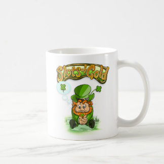 Slots of Gold Four Leaf Clover Mug