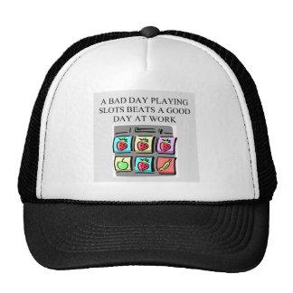 slots player casino gambler cap