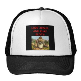 slots player trucker hats