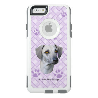 Sloughi with Lavender Weave with Paw Prints 6/6s OtterBox iPhone 6/6s Case