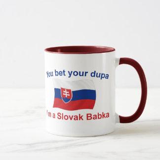 Slovak Babka-Bet Your Dupa Mug